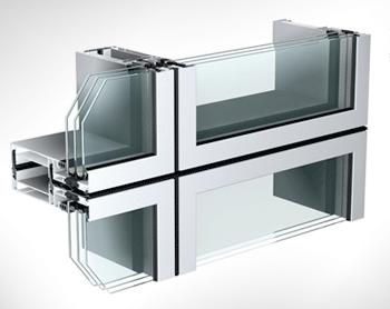 Sistema de Vidro Unitizado